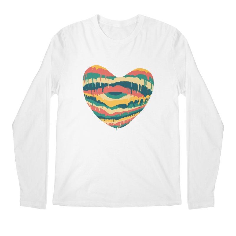 Clear eye full heart Men's Regular Longsleeve T-Shirt by illustraboy's Artist Shop