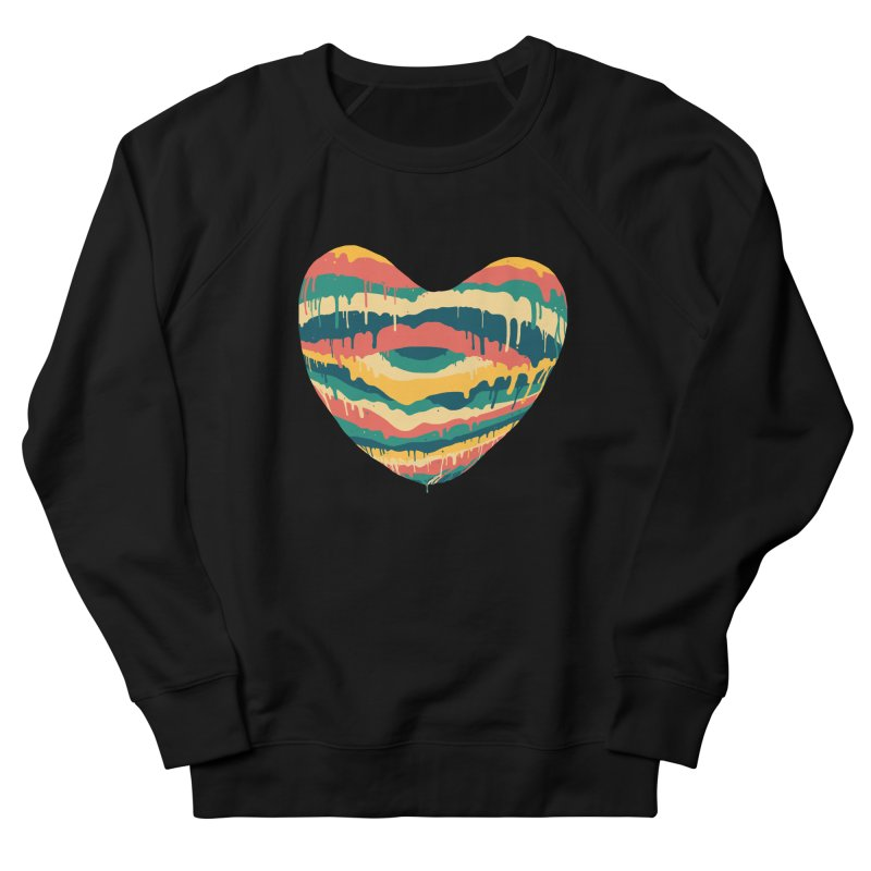 Clear eye full heart Women's French Terry Sweatshirt by illustraboy's Artist Shop