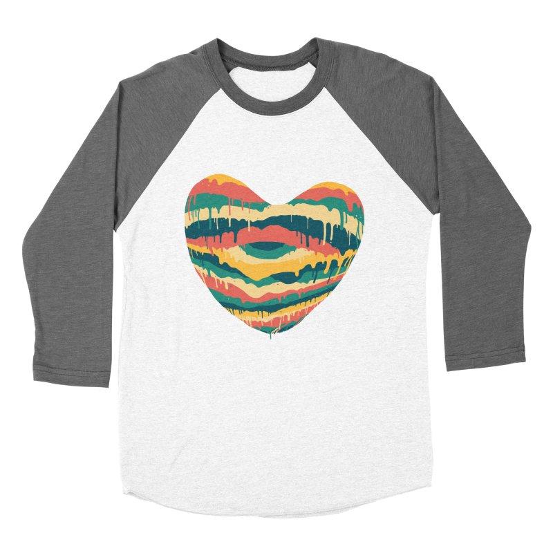 Clear eye full heart Men's Baseball Triblend T-Shirt by illustraboy's Artist Shop