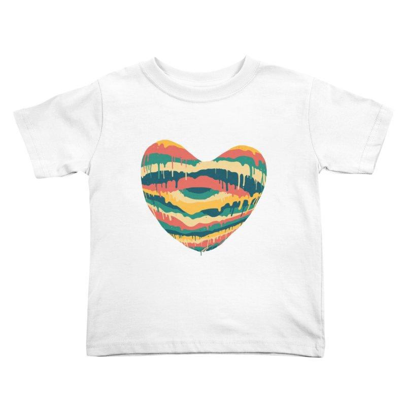 Clear eye full heart Kids Toddler T-Shirt by illustraboy's Artist Shop