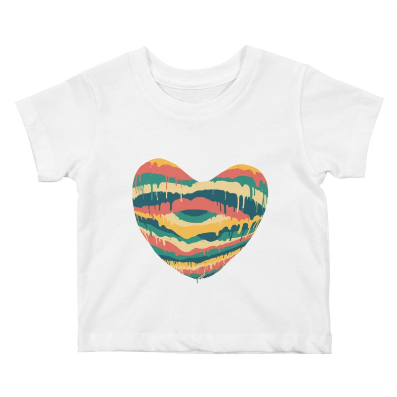 Clear eye full heart Kids Baby T-Shirt by illustraboy's Artist Shop