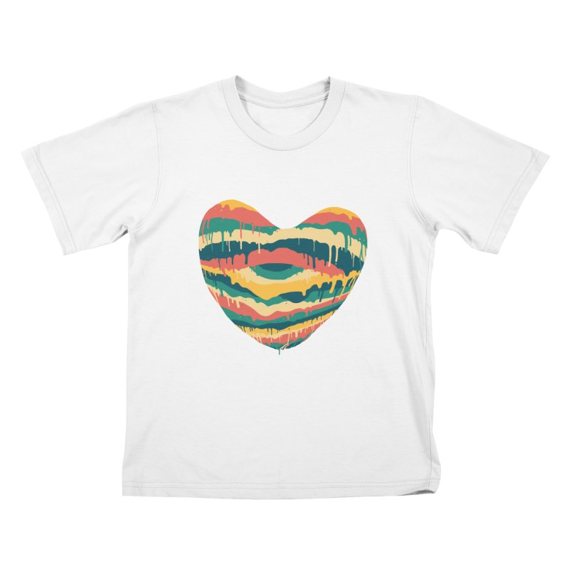 Clear eye full heart Kids T-Shirt by illustraboy's Artist Shop