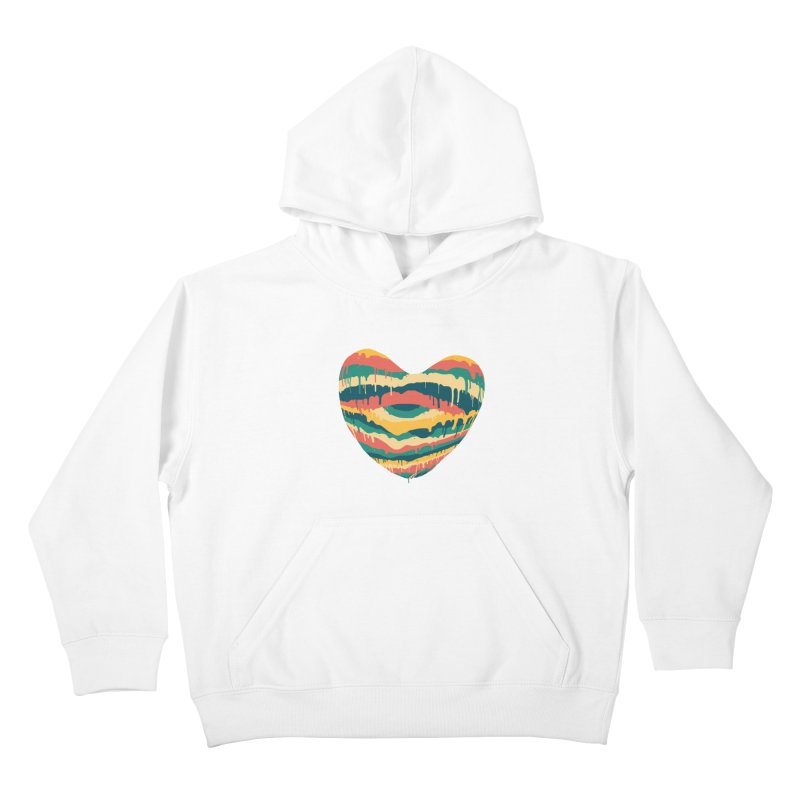 Clear eye full heart Kids Pullover Hoody by illustraboy's Artist Shop