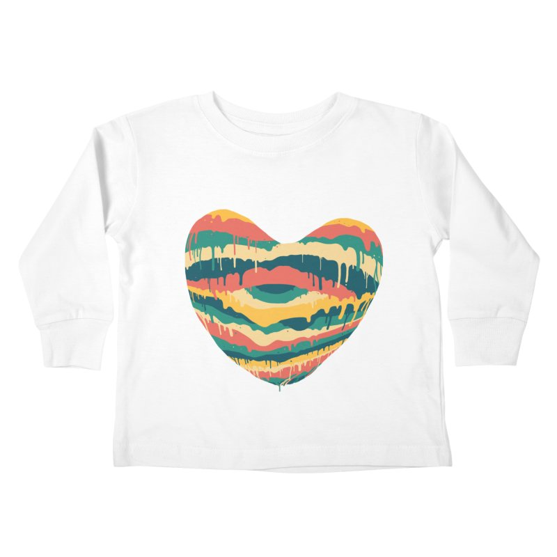 Clear eye full heart Kids Toddler Longsleeve T-Shirt by illustraboy's Artist Shop