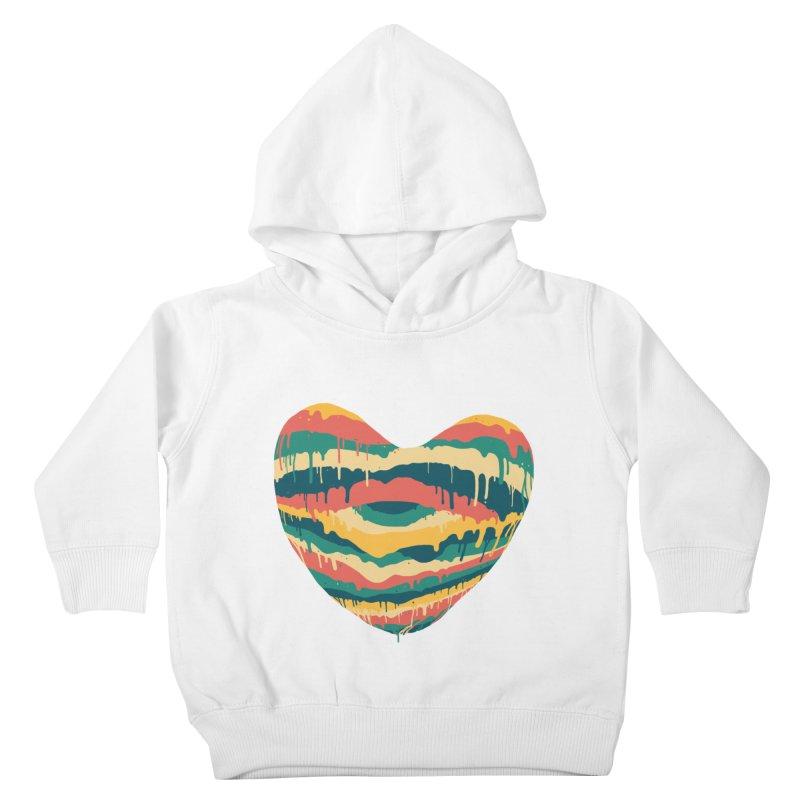 Clear eye full heart Kids Toddler Pullover Hoody by illustraboy's Artist Shop