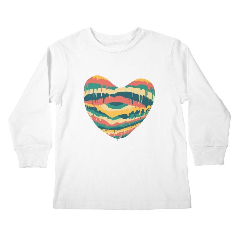 Clear eye full heart Kids Longsleeve T-Shirt by illustraboy's Artist Shop