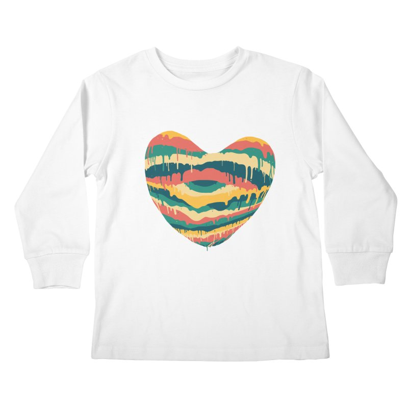 Clear eye full heart Kids Longsleeve T-Shirt by illustraboy's Artist Shop