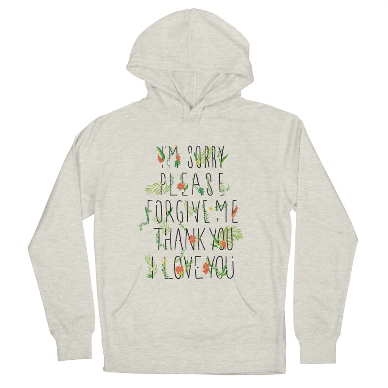 ho oponopono Men's Pullover Hoody by illustraboy's Artist Shop