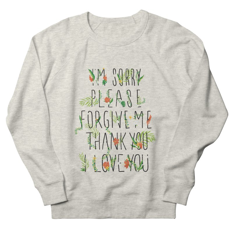 ho oponopono Women's French Terry Sweatshirt by illustraboy's Artist Shop