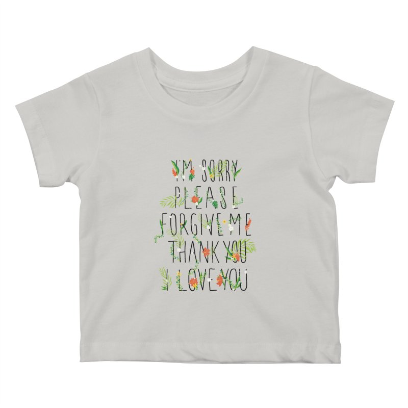 ho oponopono Kids Baby T-Shirt by illustraboy's Artist Shop