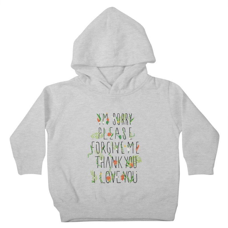 ho oponopono Kids Toddler Pullover Hoody by illustraboy's Artist Shop