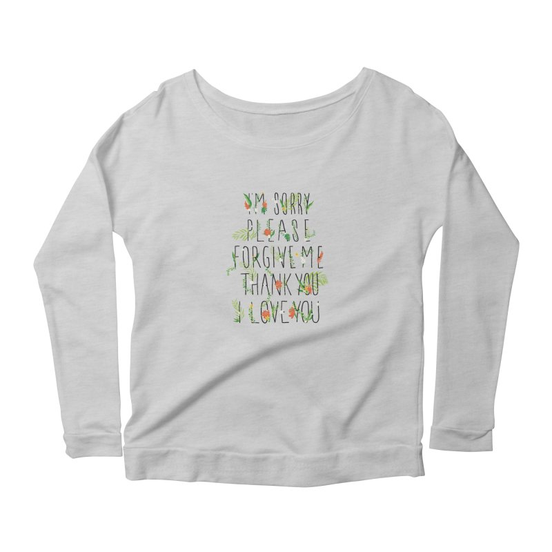 ho oponopono Women's Longsleeve T-Shirt by illustraboy's Artist Shop