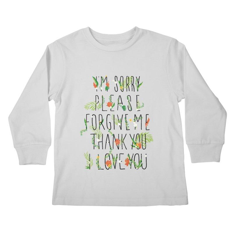 ho oponopono Kids Longsleeve T-Shirt by illustraboy's Artist Shop