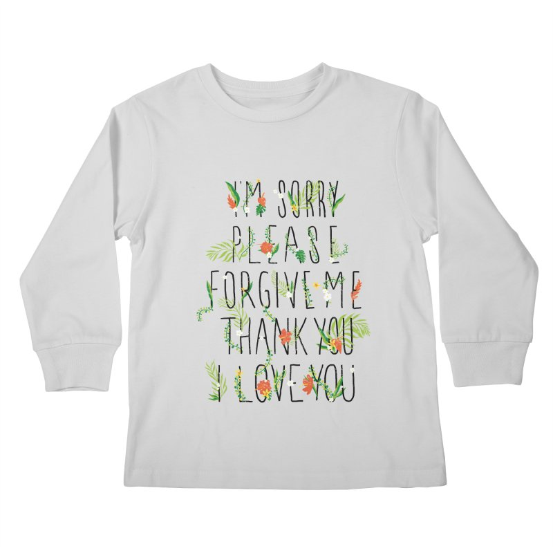 ho oponopono Kids Longsleeve T-Shirt by illustraboy's Artist Shop