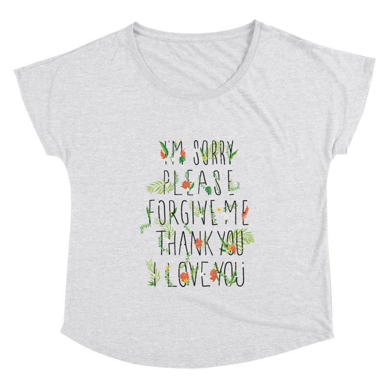 ho oponopono Women's Scoop Neck by illustraboy's Artist Shop