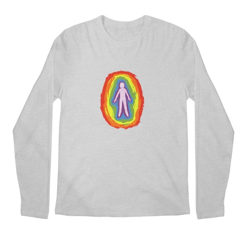 spread good vibes Men's Regular Longsleeve T-Shirt by illustraboy's Artist Shop