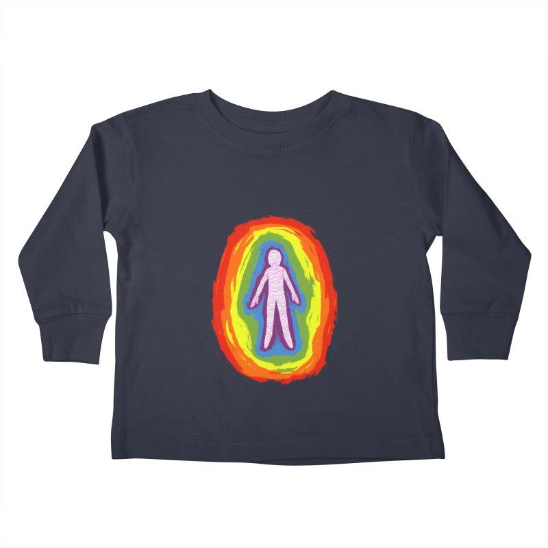spread good vibes Kids Toddler Longsleeve T-Shirt by illustraboy's Artist Shop