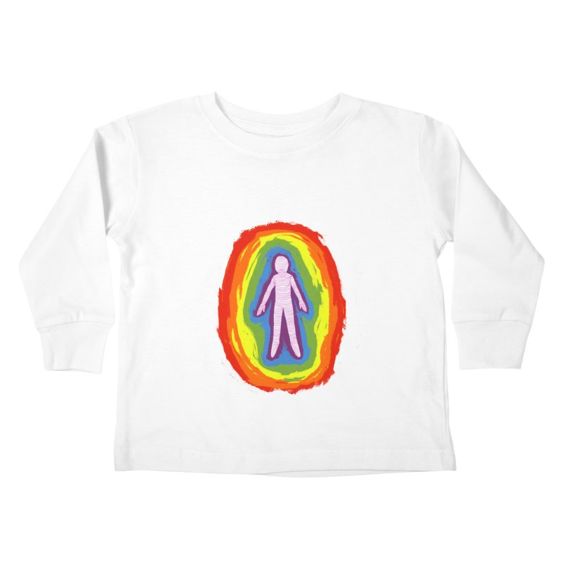 spread good vibes Kids Toddler Longsleeve T-Shirt by illustraboy's Artist Shop
