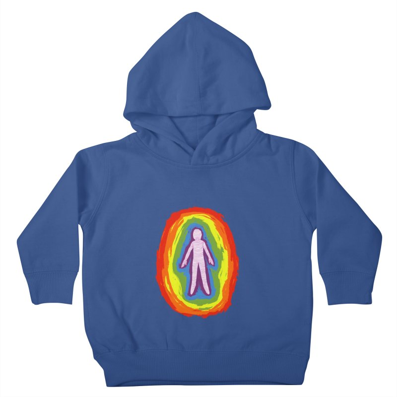spread good vibes Kids Toddler Pullover Hoody by illustraboy's Artist Shop