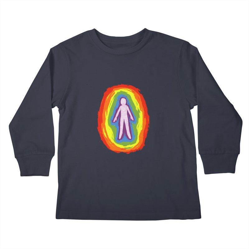 spread good vibes Kids Longsleeve T-Shirt by illustraboy's Artist Shop
