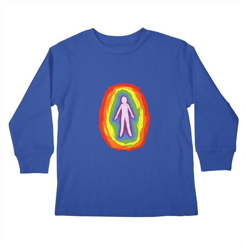 spread good vibes Kids Longsleeve T-Shirt by illustraboy's Artist Shop