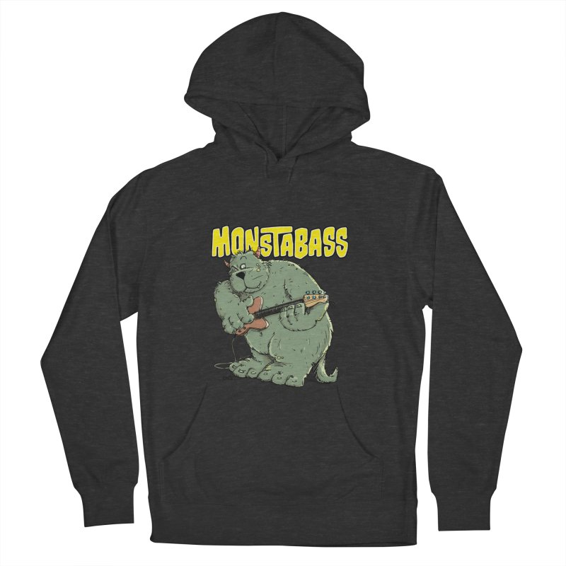 Monsterbass Women's Pullover Hoody by Illustrated Madness