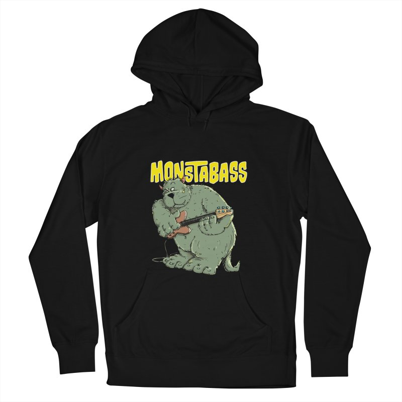 Monsterbass Men's Pullover Hoody by Illustrated Madness