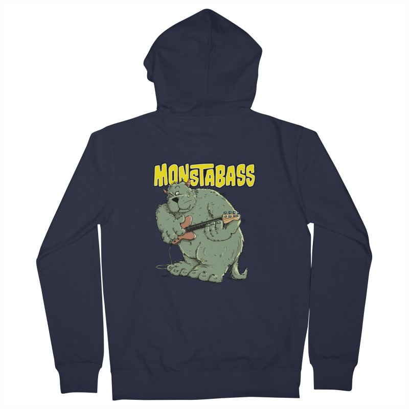 Monsterbass Women's Zip-Up Hoody by Illustrated Madness