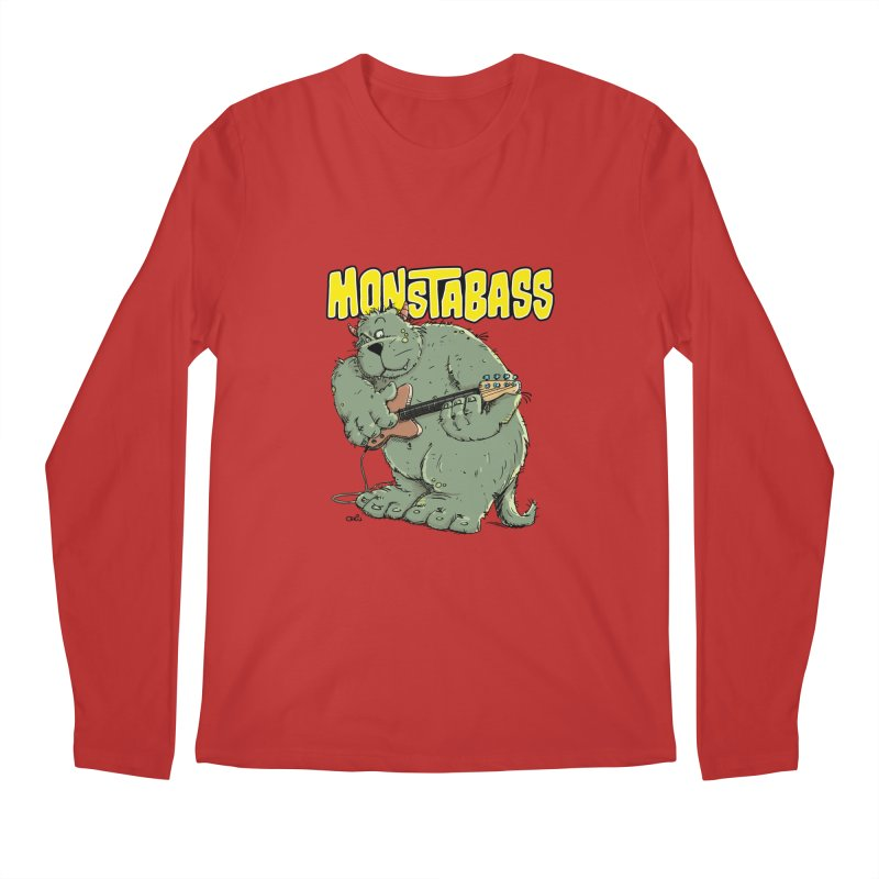 Monsterbass Men's Longsleeve T-Shirt by Illustrated Madness