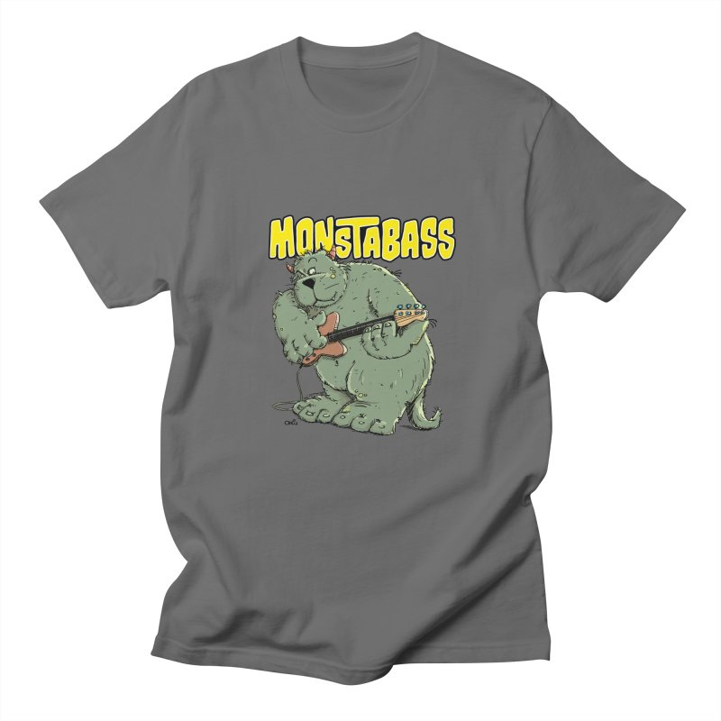 Monsterbass Men's T-Shirt by Illustrated Madness