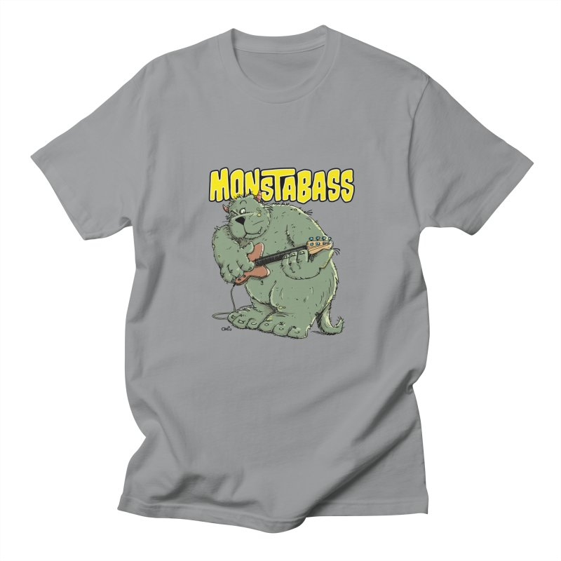 Monsterbass Women's Unisex T-Shirt by Illustrated Madness