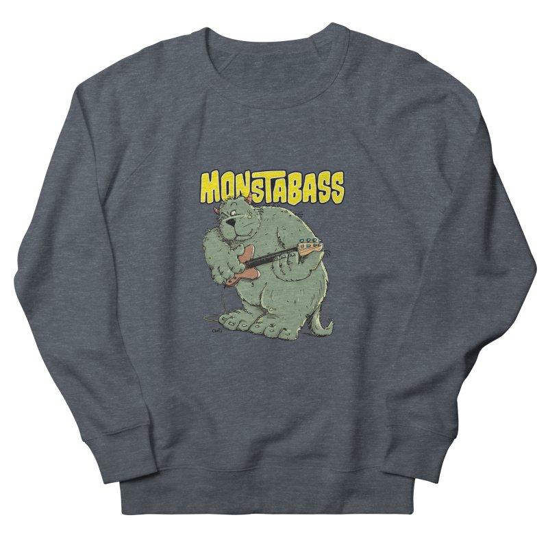 Monsterbass Women's Sweatshirt by Illustrated Madness