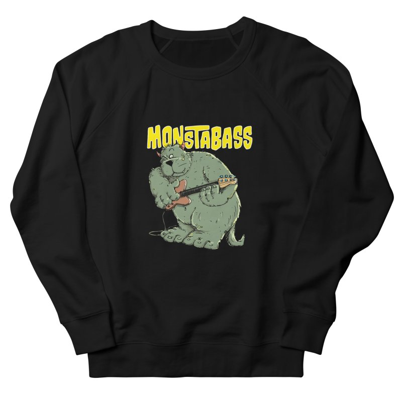 Monsterbass Women's Sweatshirt by Illustrated Madness