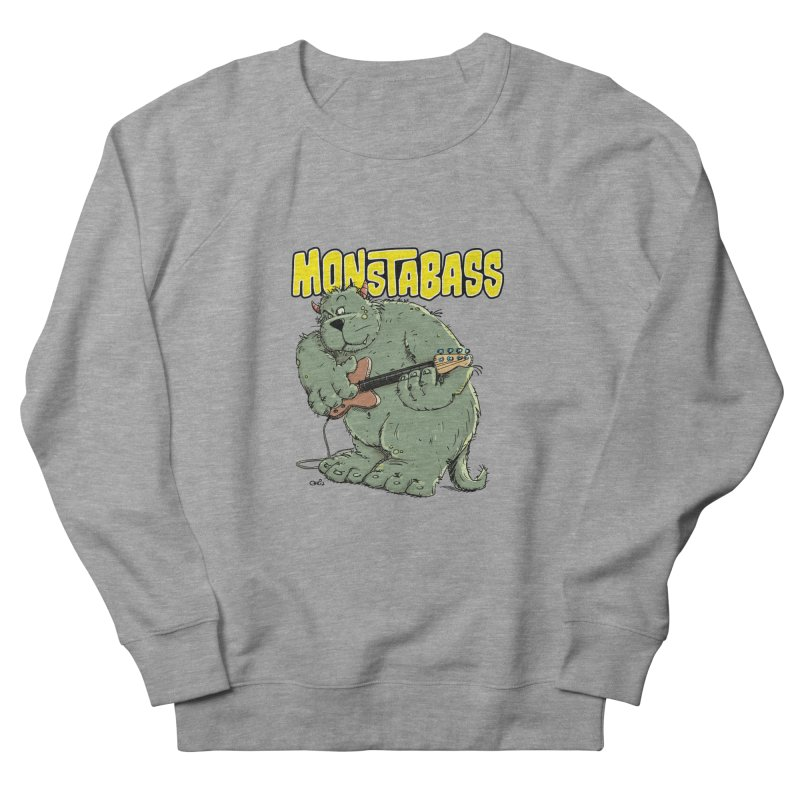 Monsterbass Men's Sweatshirt by Illustrated Madness