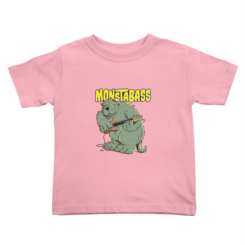 Monsterbass Kids Toddler T-Shirt by Illustrated Madness