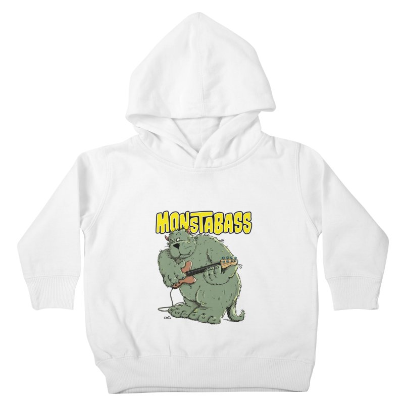 Monsterbass Kids Toddler Pullover Hoody by Illustrated Madness