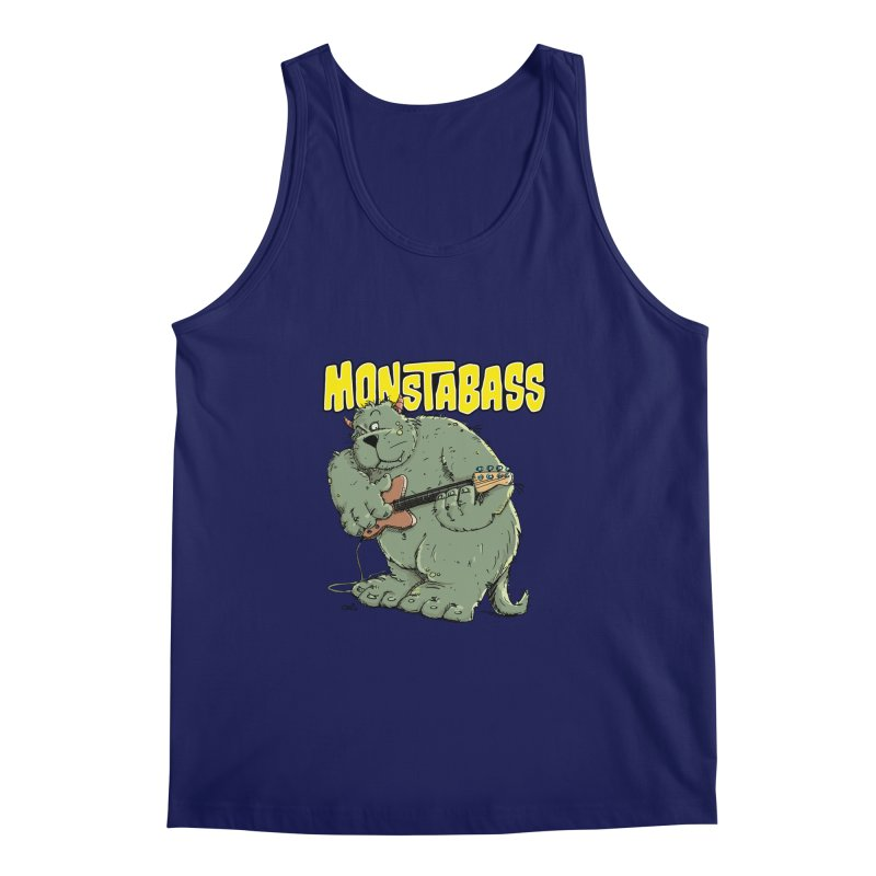 Monsterbass Men's Tank by Illustrated Madness