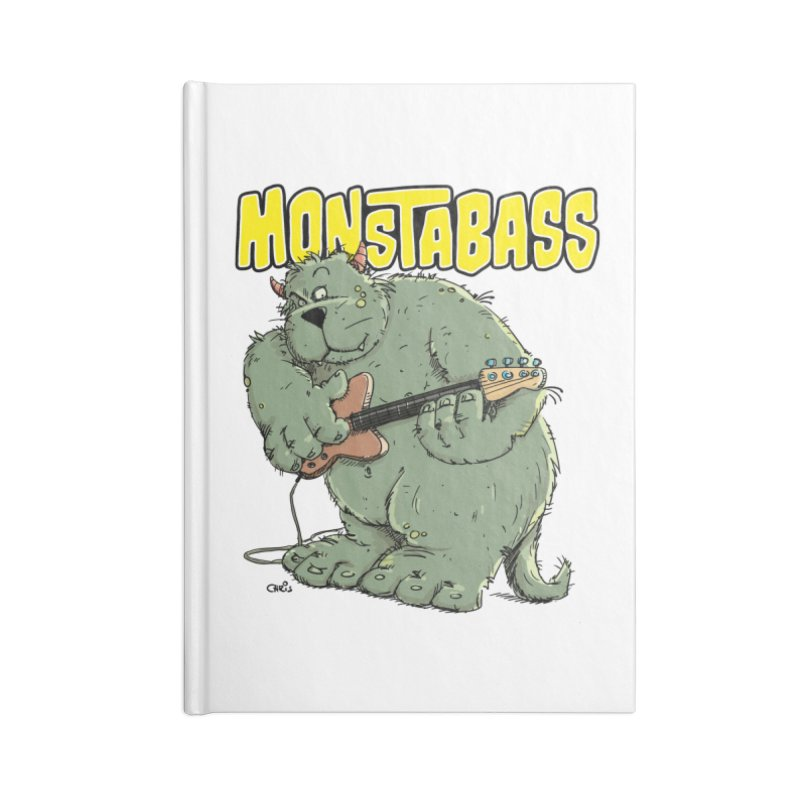 Monsterbass Accessories Notebook by Illustrated Madness