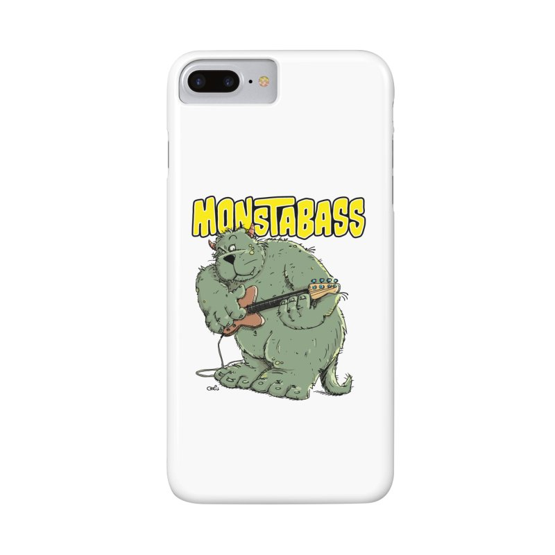 Monsterbass Accessories Phone Case by Illustrated Madness