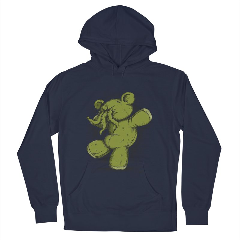 Mr Lovecraft's Teddy Bear Women's Pullover Hoody by Illustrated Madness