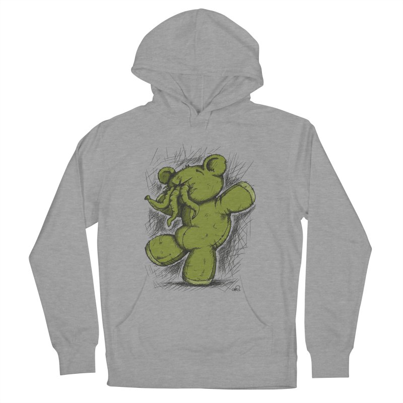 Mr Lovecraft's Teddy Bear Men's Pullover Hoody by Illustrated Madness