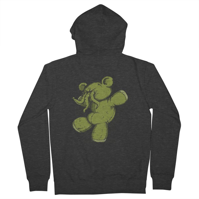 Mr Lovecraft's Teddy Bear Women's Zip-Up Hoody by Illustrated Madness
