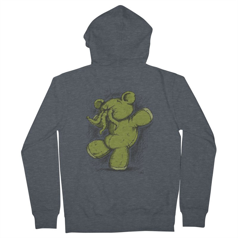 Mr Lovecraft's Teddy Bear Men's Zip-Up Hoody by Illustrated Madness