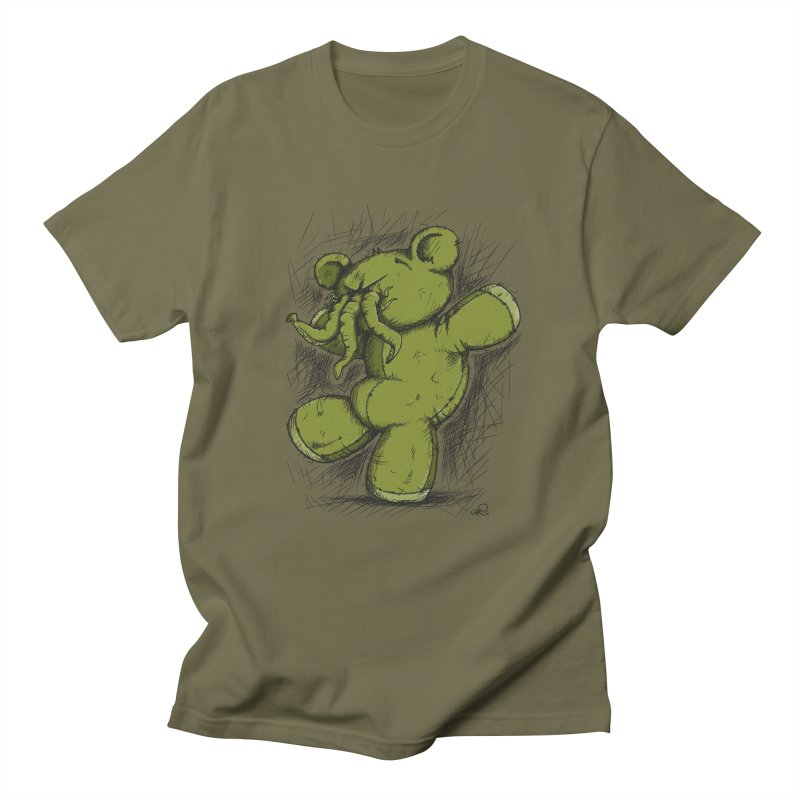 Mr Lovecraft's Teddy Bear Women's Unisex T-Shirt by Illustrated Madness