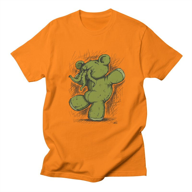 Mr Lovecraft's Teddy Bear Men's T-shirt by Illustrated Madness