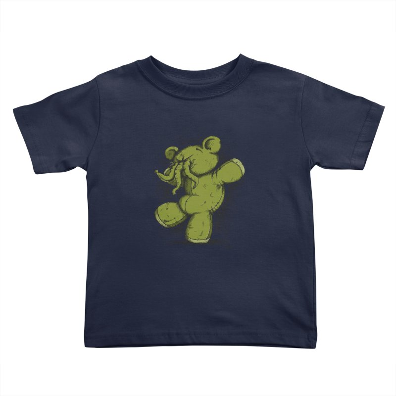 Mr Lovecraft's Teddy Bear Kids Toddler T-Shirt by Illustrated Madness