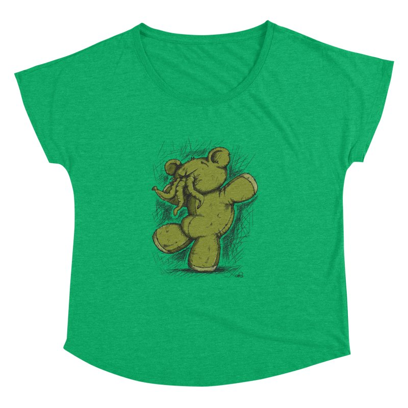Mr Lovecraft's Teddy Bear Women's Dolman by Illustrated Madness