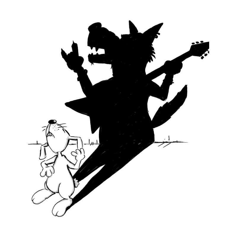 Hare Guitar None  by Illustrated Madness
