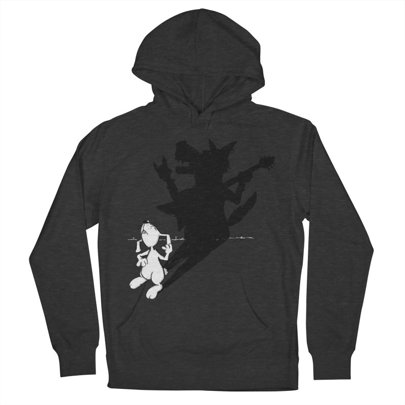Hare Guitar Men's Pullover Hoody by Illustrated Madness