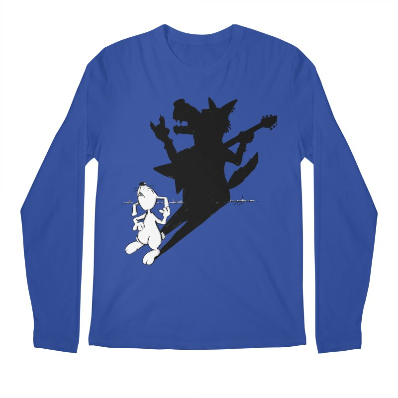 Hare Guitar Men's Longsleeve T-Shirt by Illustrated Madness